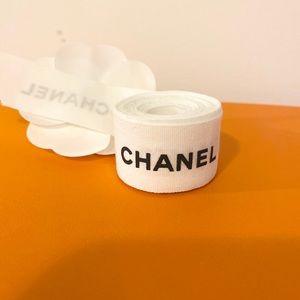 Authentic Chanel ribbon